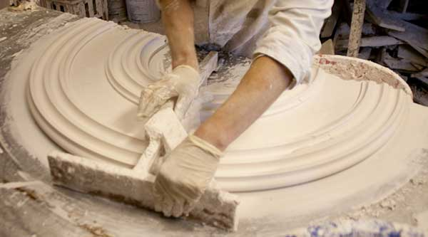 Creating a new ceiling rose