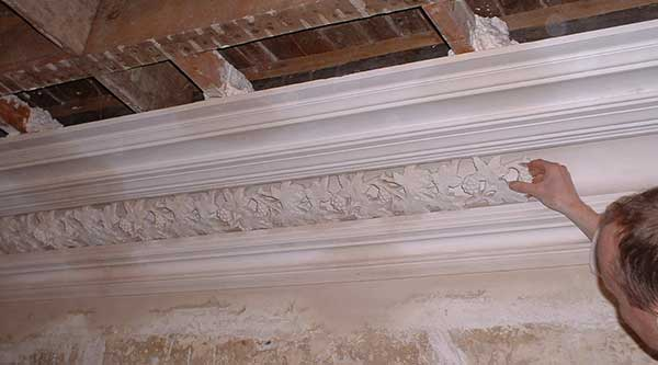 Ornate Plaster Cornice Restoration Decorative Enrichments