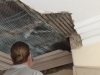 We are replacing the section of cornice and ceiling that has been damaged through water ingress.